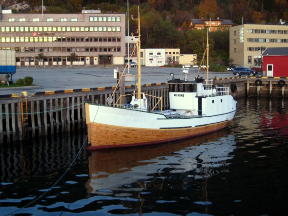 Classic Norwegian Fishing Vessel - Ariadne