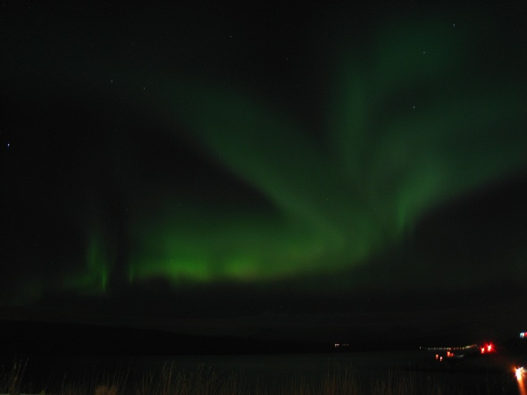 Northern Lights above The Ofoten Fjord 2
