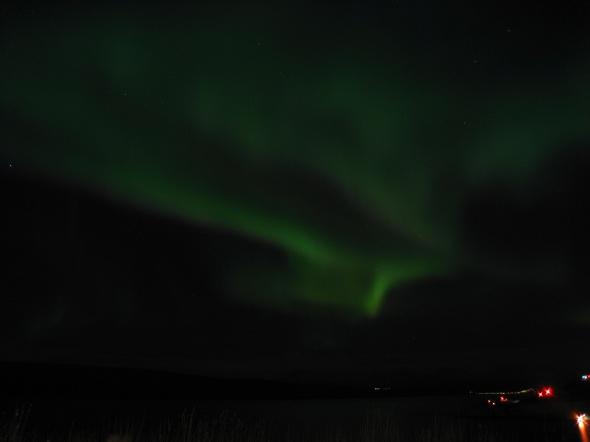 Northern Lights above The Ofoten Fjord 3