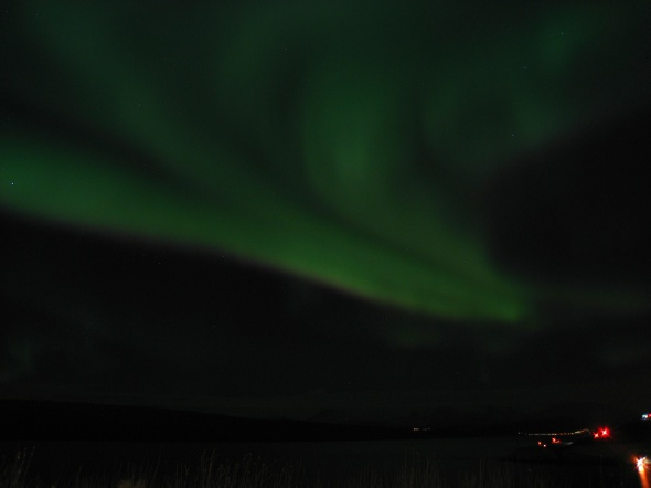 Northern Lights above The Ofoten Fjord 3