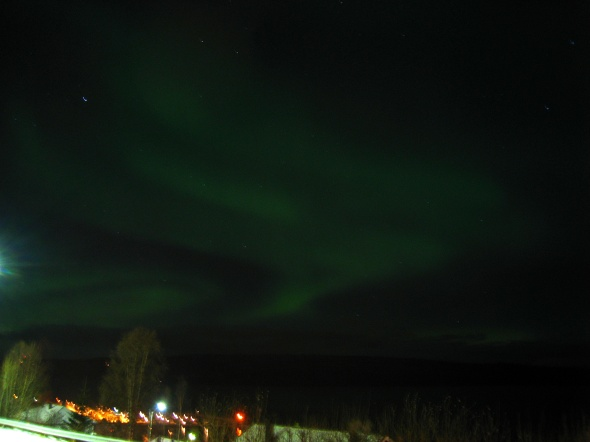 Northern Lights above the Ofoten Fjord 3 (seen in a West by South-Westerly direction)