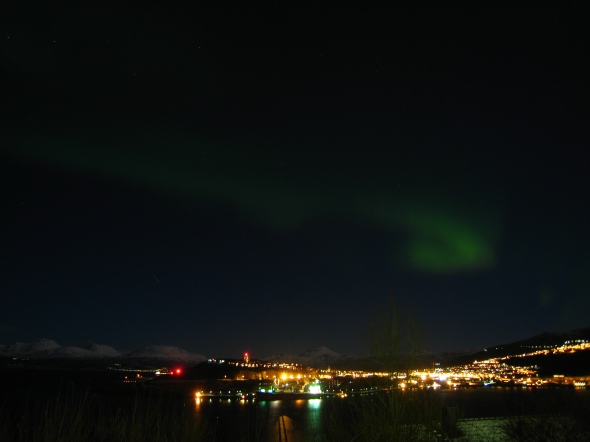 Northern Lights and Narvik 1