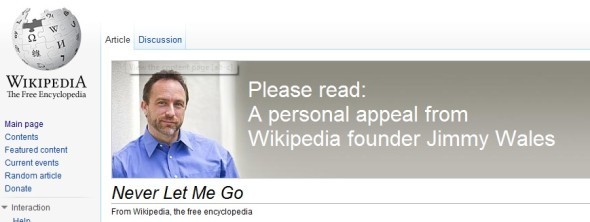 Jimmy Wales - Never Let Me Go