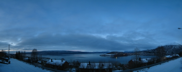 Silent day by the Ofoten Fjord