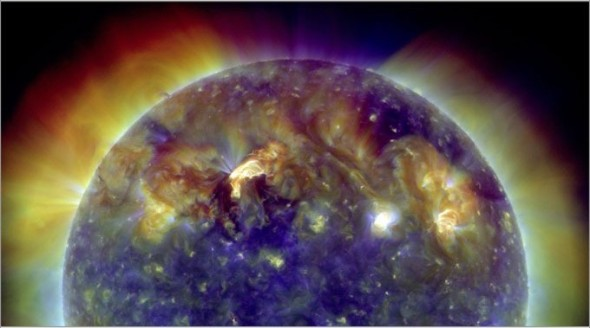 A stunning picture of the sun taken on 30th of march 2010