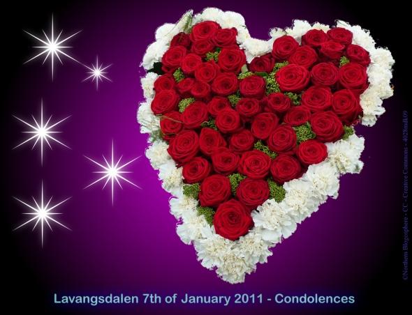 Condolences - Lavangsdalen - 07-01-2011