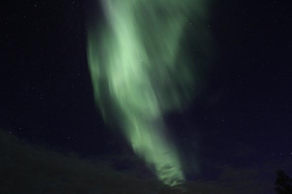 Aurora Borealis last night - a spectacular show