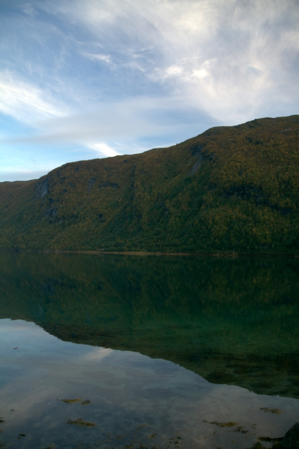 Ankenes Mountain mirrors in the Beisfjord