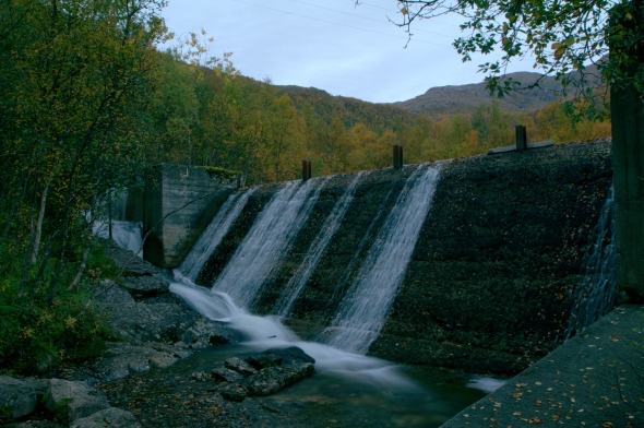 Surplus Water from the hydroelectric powerplant/municipal waterprocessing facility