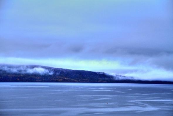Special light - Autumn fjord
