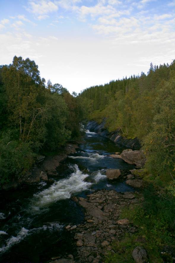 The Østervik River