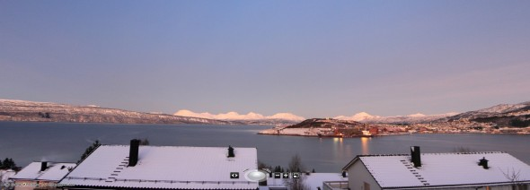 Interactive Panorama - Last day of the year 2011 - By the Ofoten Fjord