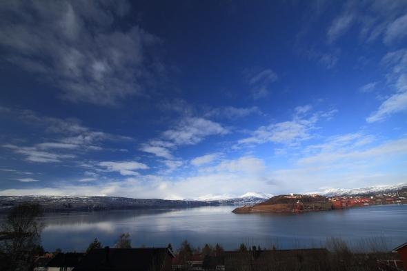 Ofoten Fjord this lovely spring day