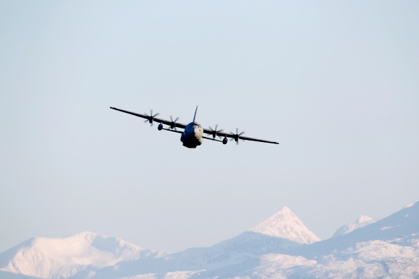 Archive: A Norwegian C-130J Hercules in flight - Cold Response 2010 (Photo: Norwegian Armed Forces)