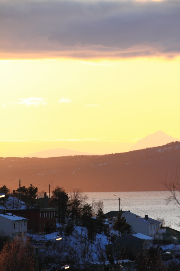 Ankenes - Hatteberget - by sunset