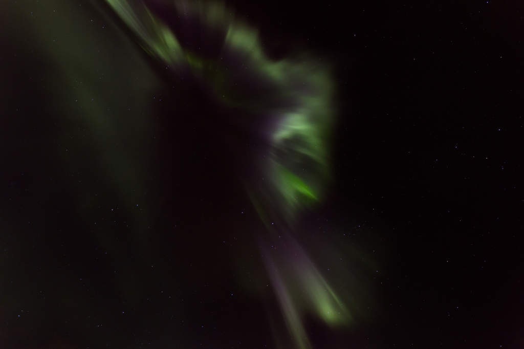 Northern lights? -straight up, please!