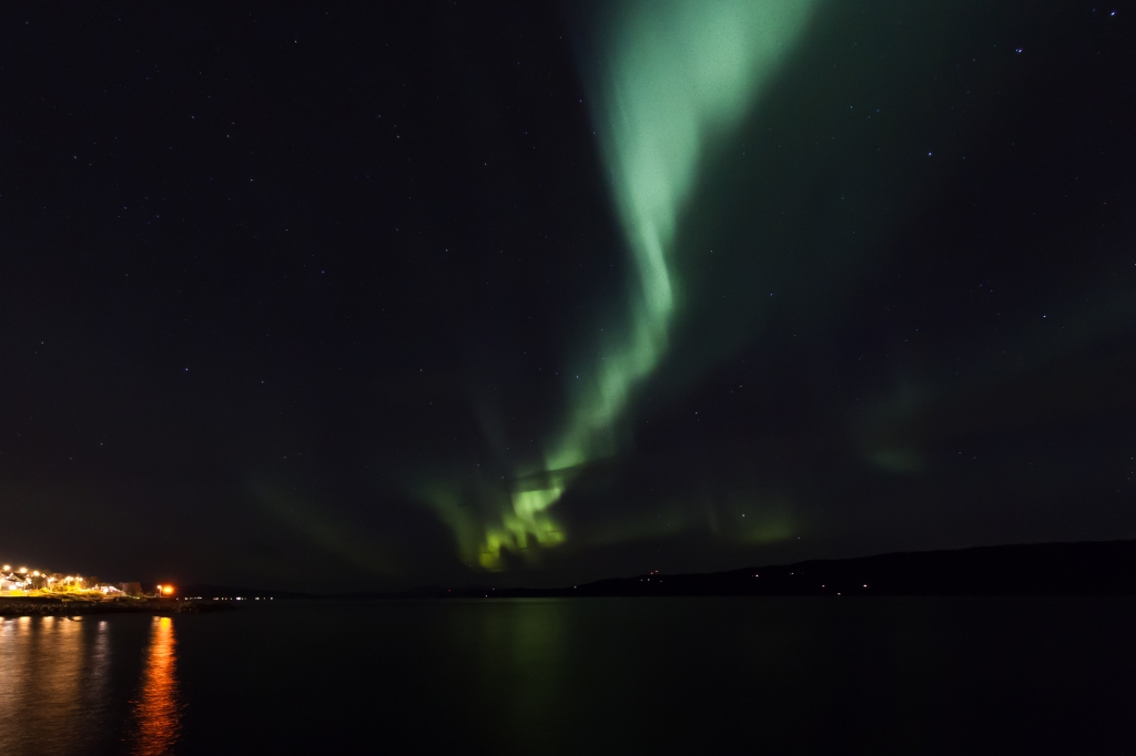 Another one from the Ofoten Fjord last night.