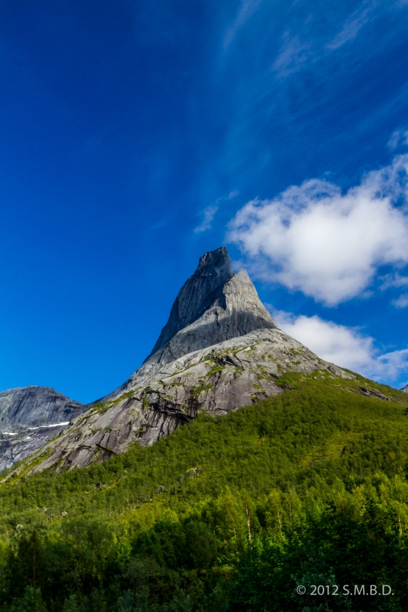 Stetind - National Mountain of Norway. I share this symbolically with you to celebrate this new record in visitors to my blog.